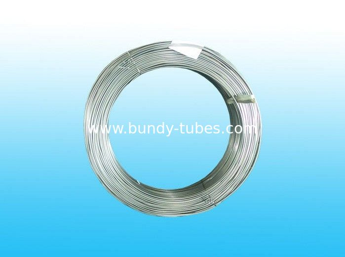 Electriced Zinc Coated Galvanized Steel Tube 6mm X 0.5 mm For Brake System