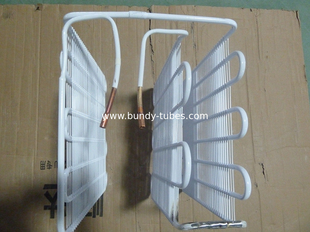 Bundy Wire Tube Ice Maker Evaporator Refrigerator Parts With Powder Coating