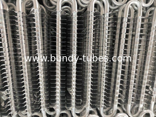 Aluminum No Frost Fin Heating Refrigeration Evaporators With Batch Production