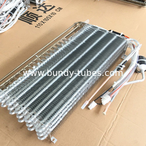 Low Temperature Cold Room Aluminum Finned Evaporator Applicable To Global Refrigeration Market