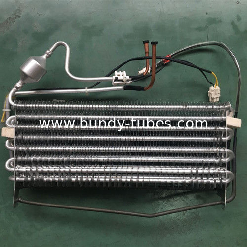 Aluminum No Frost Finned Tube Refrigerator Evaporator For Cooling Freezer By Our Factory Made Directly