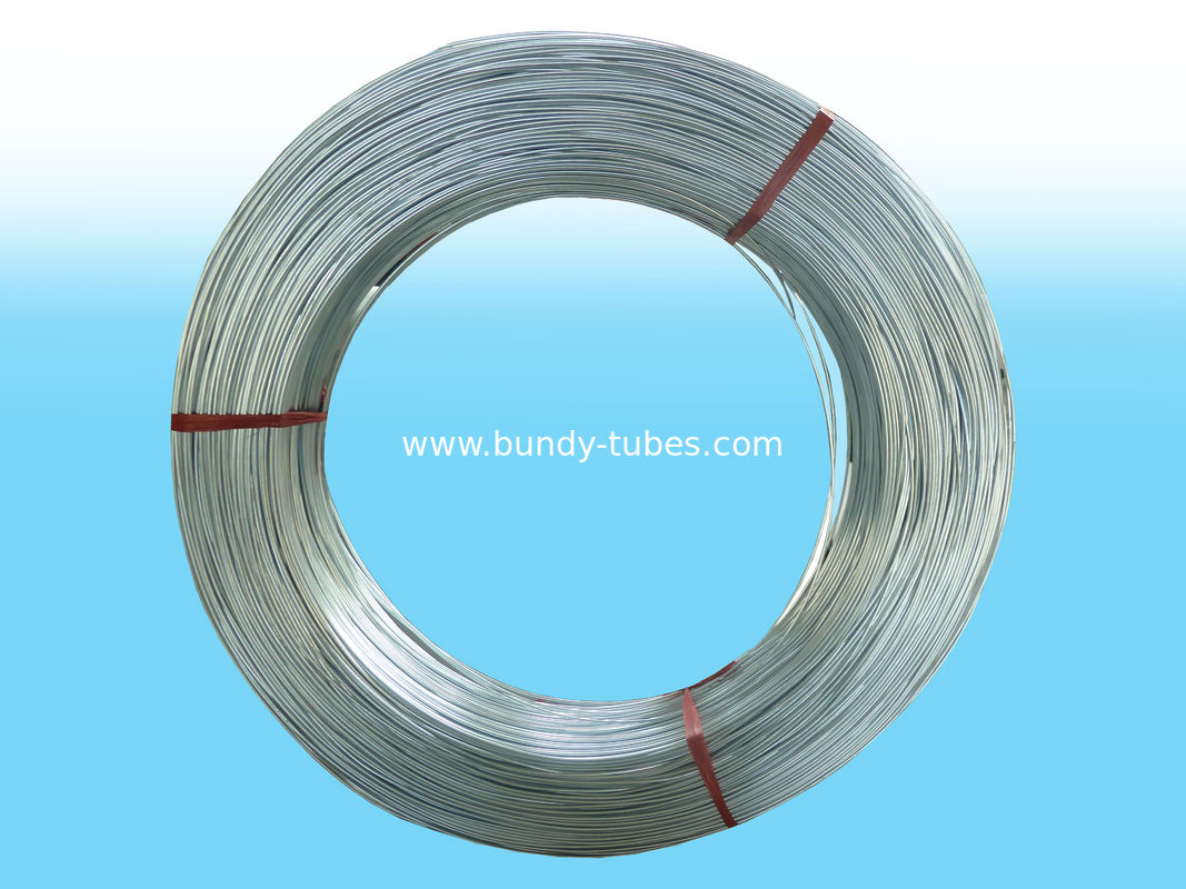 4.76 X 0.55mm Low Carbon Galvanized Steel Tube Usd In Refrigeration System