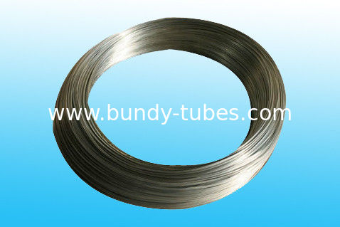 Welded Plain Steel Bundy Tubes , Bright Tube 8 X 0.65 mm for cooling system