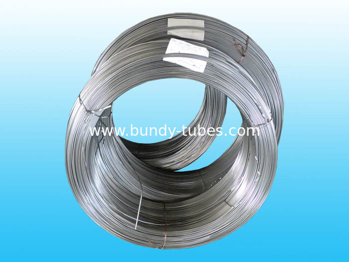 Steel Bundy Tubes , No Coating Low Carbon Tubes 6.35mm X 0.7 mm