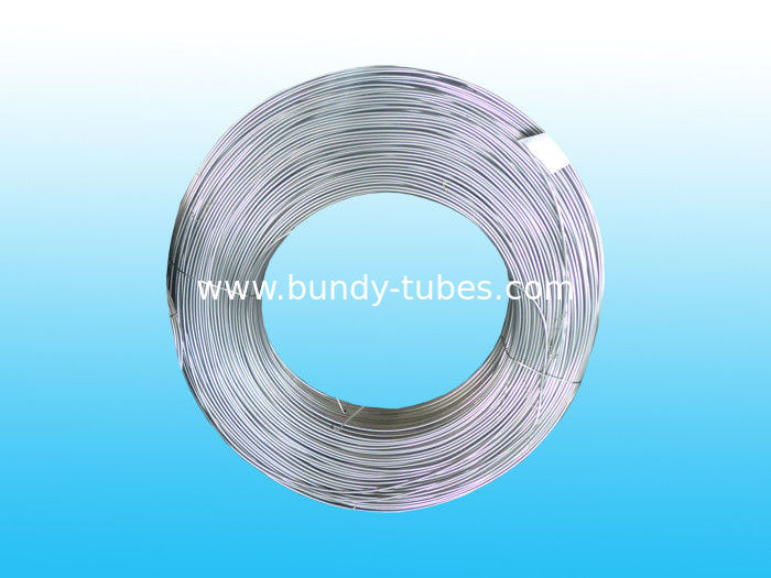 Single Wall Zn Coated Bundy Pipe 4.2 * 0.65 mm For Evaporators