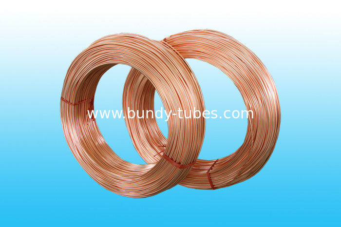 Copper Coated Bundy Tube 6mm X 0.65 mm , GB/T 24187-2009 Standard