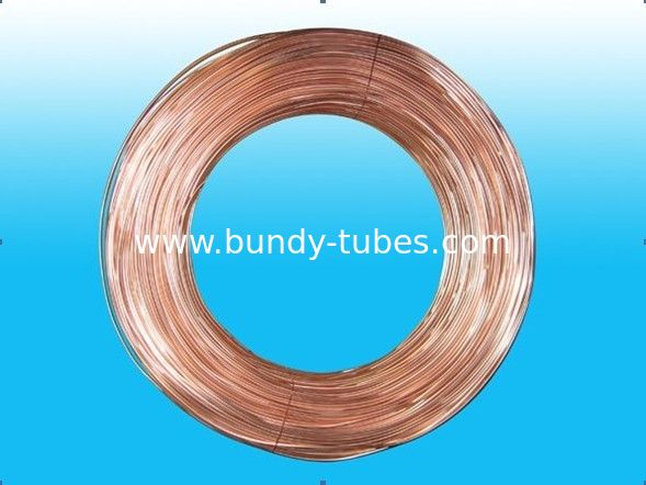 Single Wall Cold Drawn Welded Tubes / Steel Bundy Tube 4.2 * 0.7 mm